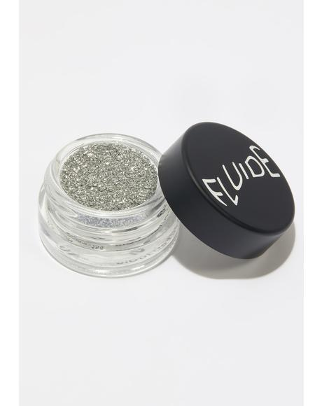 Silver Biodegradable Loose Glitter Pot