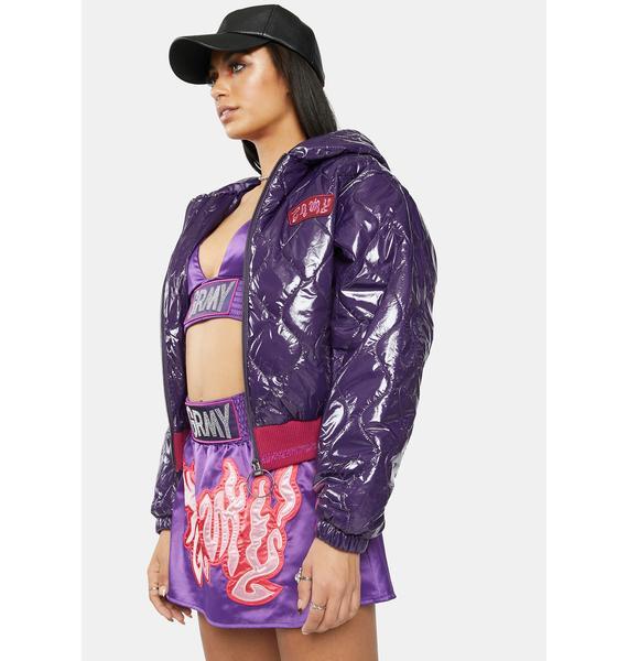 GRIMEY Yoga Fire Bomber Jacket