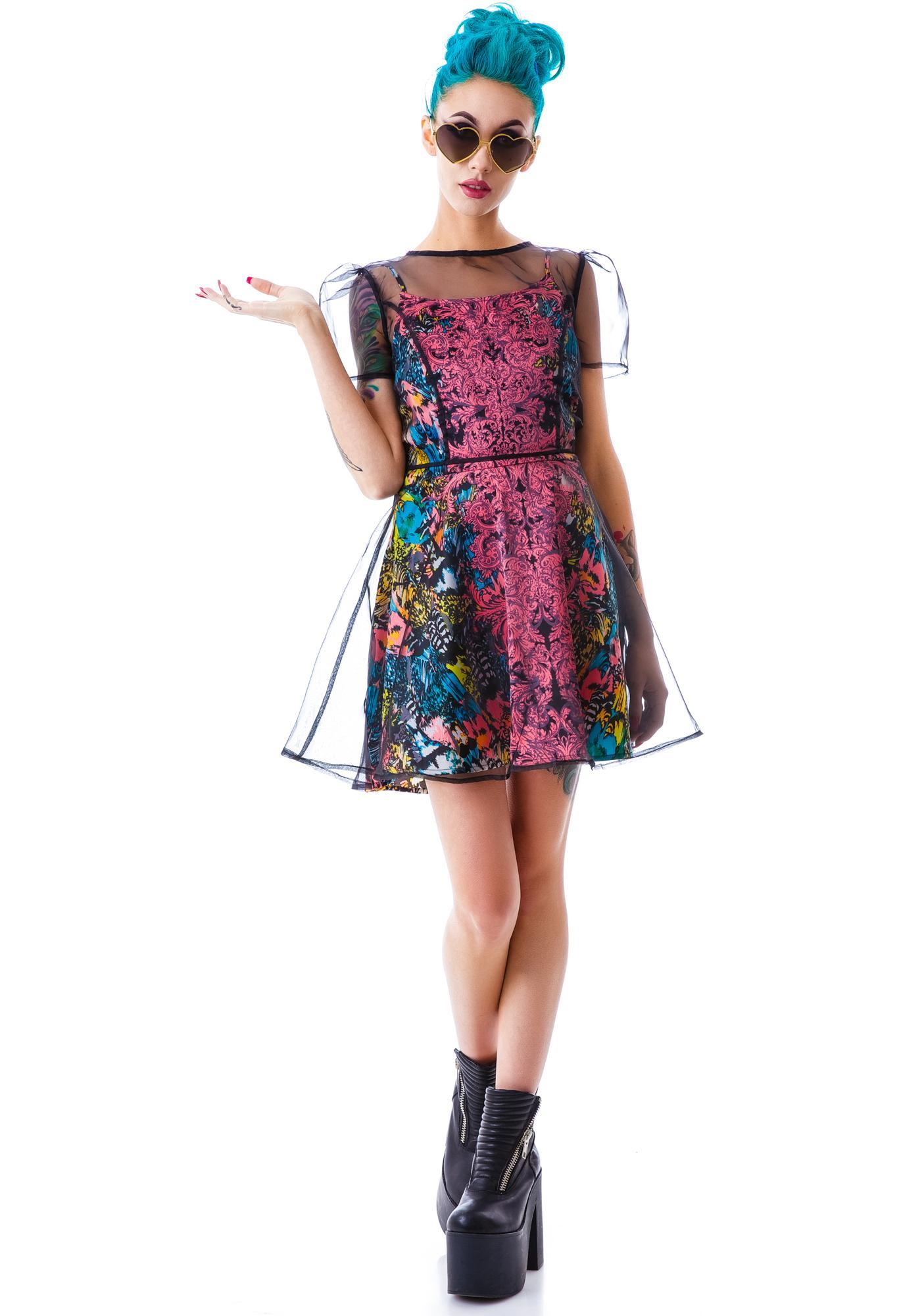 Gianni Flared Dress