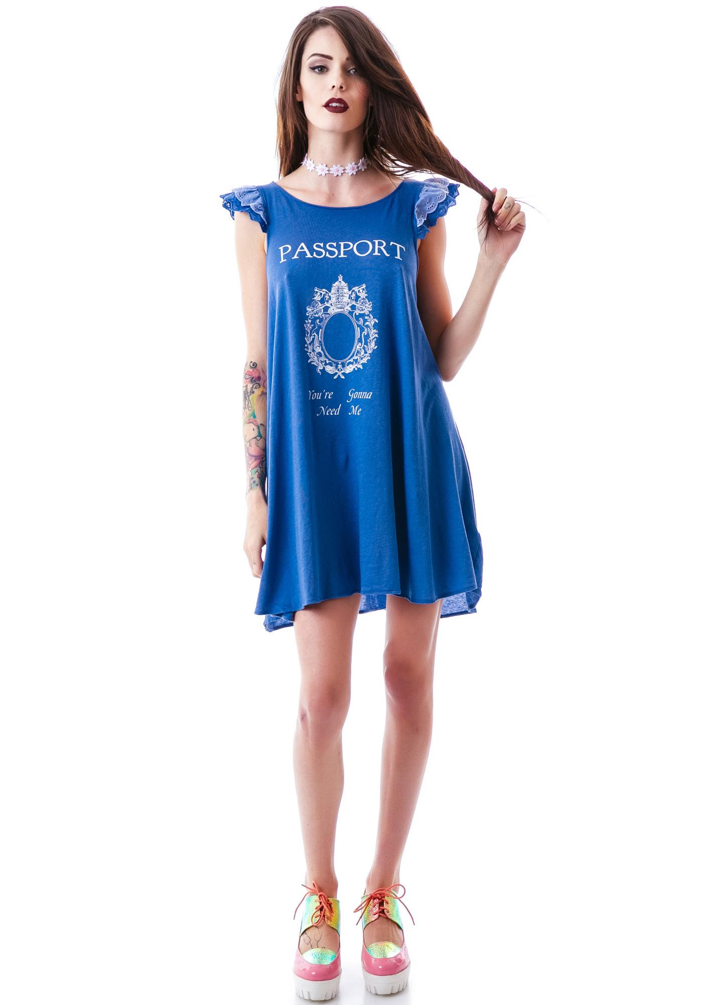 Wildfox Couture You're Gonna Need Me Wildflower Dress