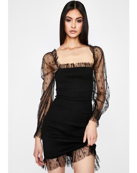 Hashtag Dead Lace Dress