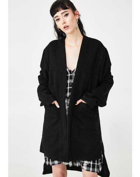 Illusion Daze Oversized Cardigan