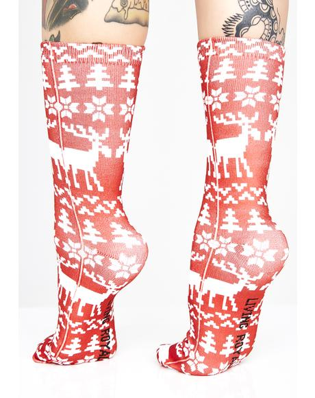 Ugly Xmas Sweater Sock Set