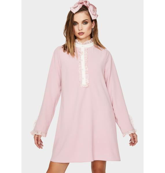 Sister Jane Cherry Tree A-Line Mini Dress