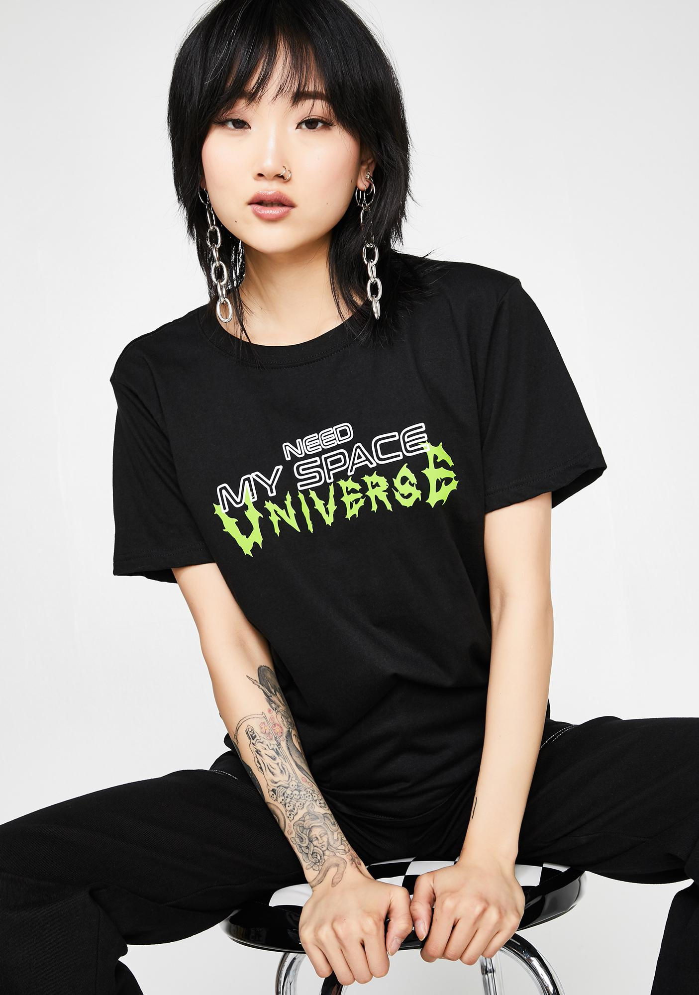 Minga Need My Space Oversized Tee