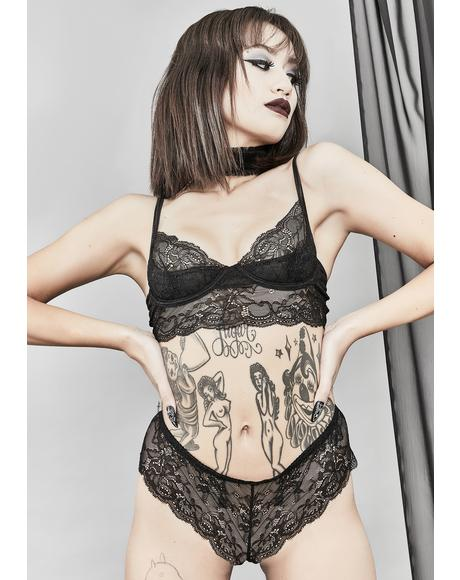 Tear My Apart Lace Bra