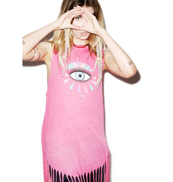 Wildfox Couture Third Eye Gypsy Tank
