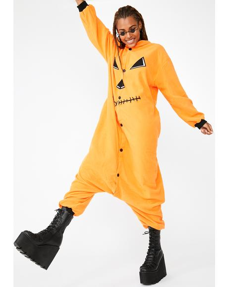 Sweet Pumpkin Onesie Costume