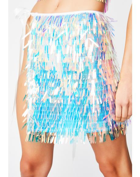 Playa Princess Sequin Skirt