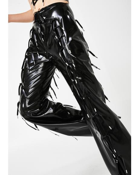 Expando Latex Trousers