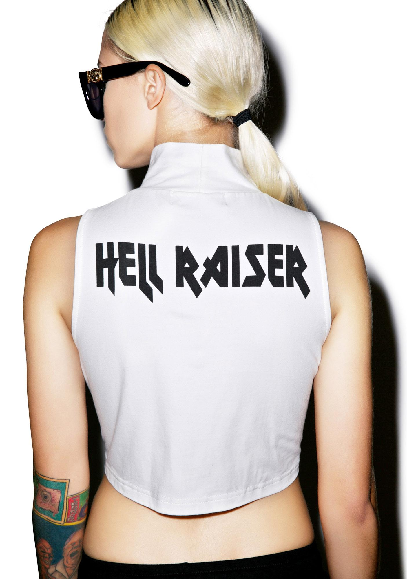 Evil Twin Raising Hell Skivvy Crop