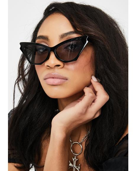 Camden Cat-Eye Sunglasses