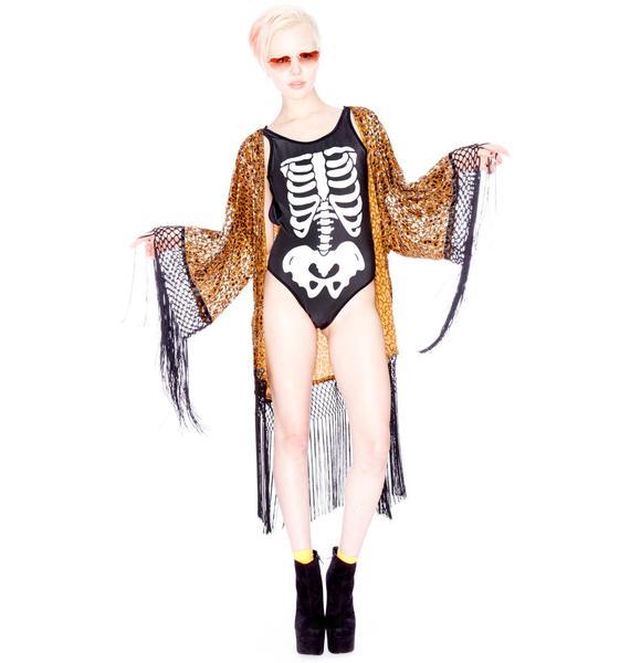Evil Twin Joplin Fringe Robe