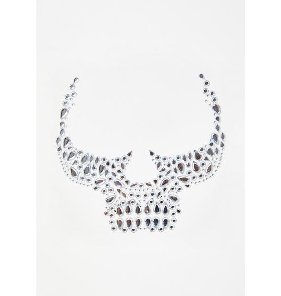 Skeletrixx Iridescent Face Gems