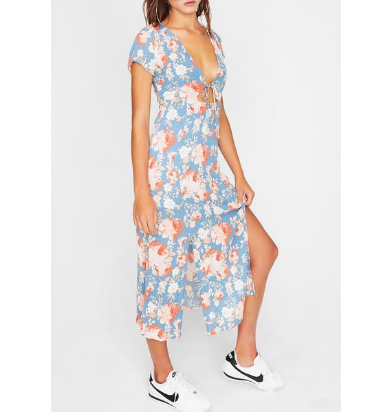 Tell Me Something Good Midi Dress