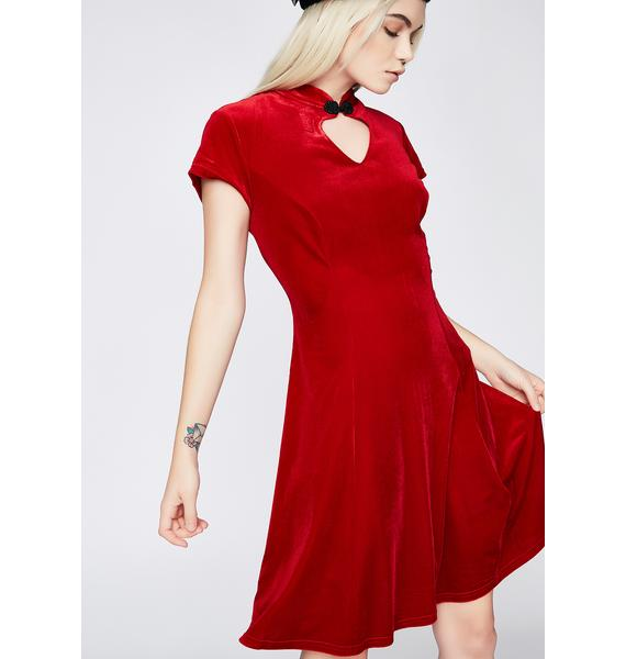 Hell Bunny Ruby Mika Mini Dress