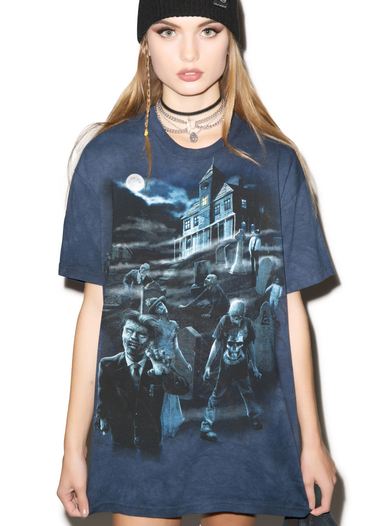 Glowing Zombies and Ghosts Top