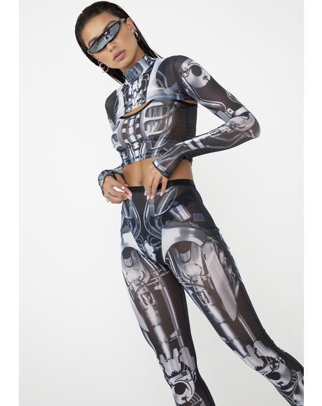 8242c000eb13 Sheer Lace Rhinestone Black Leggings | Dolls Kill