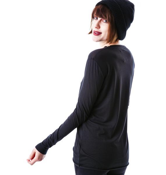 Zoe Karssen Playdead Loose Fit Long Sleeve Tee