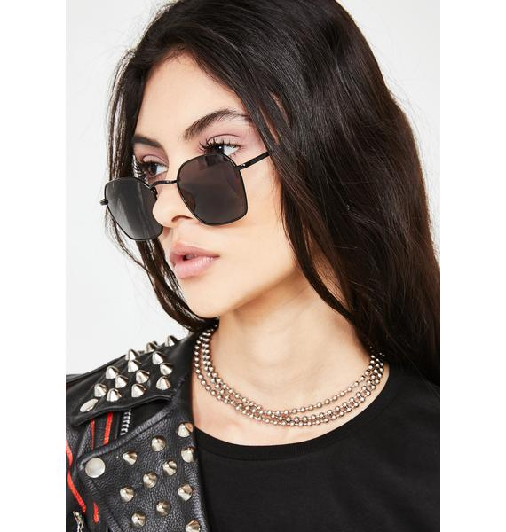 Ring Side Oval Sunglasses