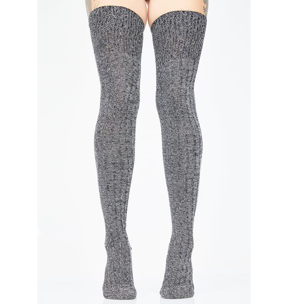 Cozy Up Knit Thigh Highs