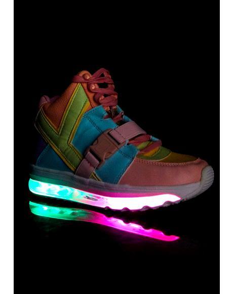 Qozmo Aiire Pastel Sneakers