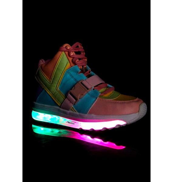 Y.R.U. Qozmo Aiire Pastel Sneakers