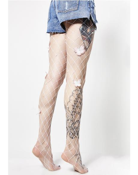 Metamorphosis Fishnet Tights