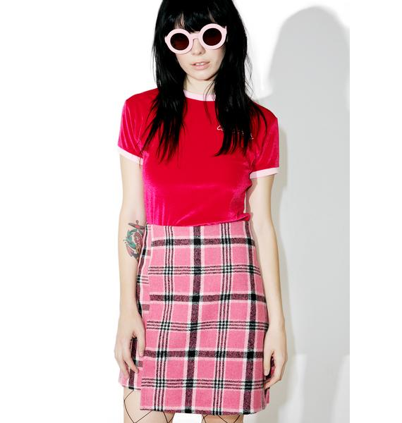 The Ragged Priest Silverstone Skirt