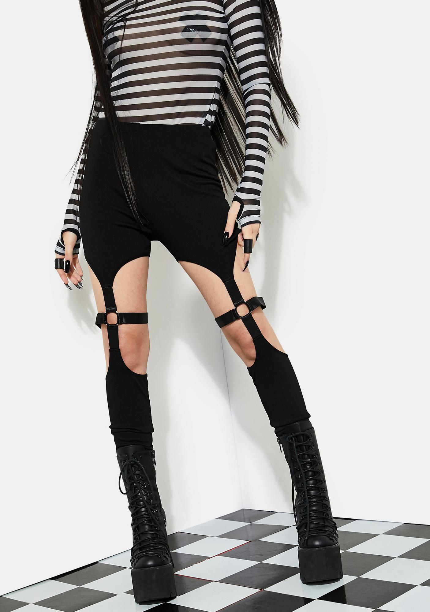Current Mood Bitter End Bondage Leggings
