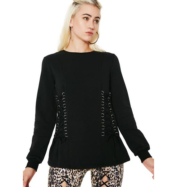 Glamorous Lost In The Woods Long Sleeve Top