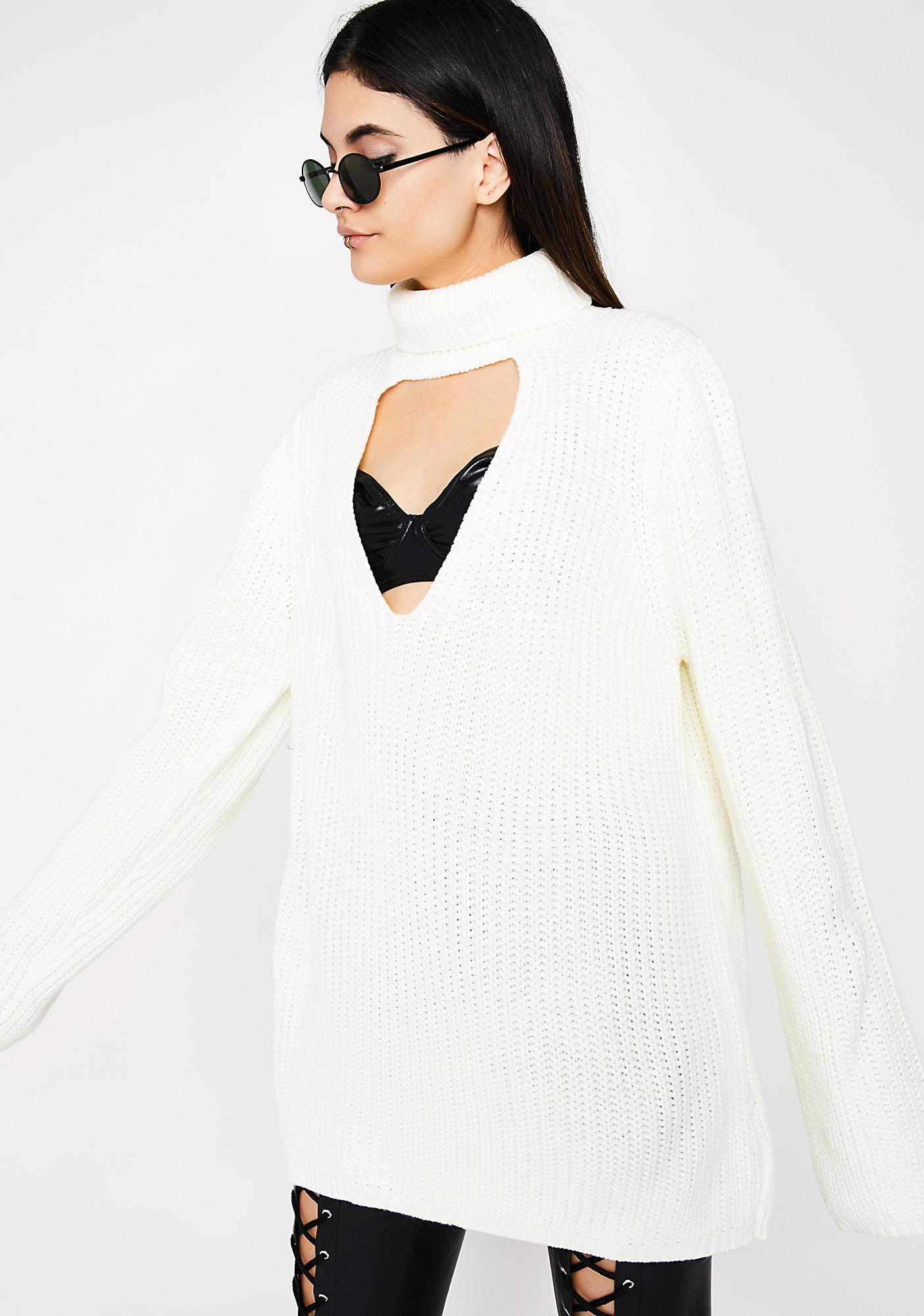 Thinkin' Bout You Knit Sweater
