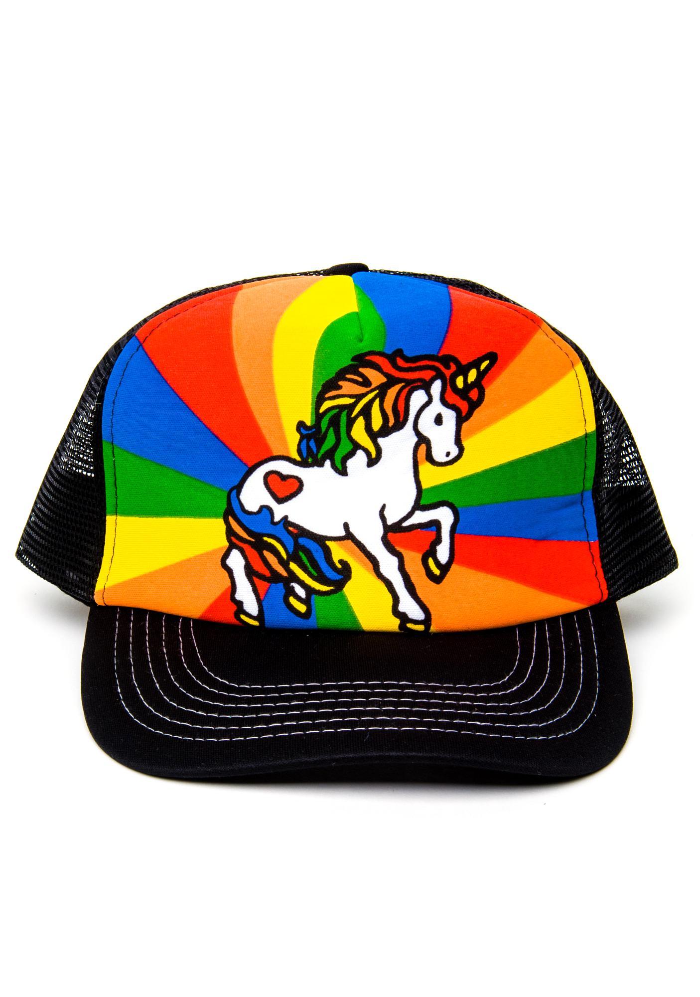 Unicorn Freakout Mesh Cap