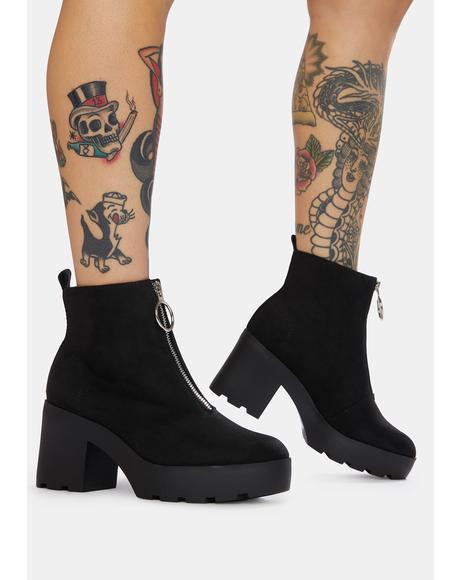 It's A Match Platform Boots