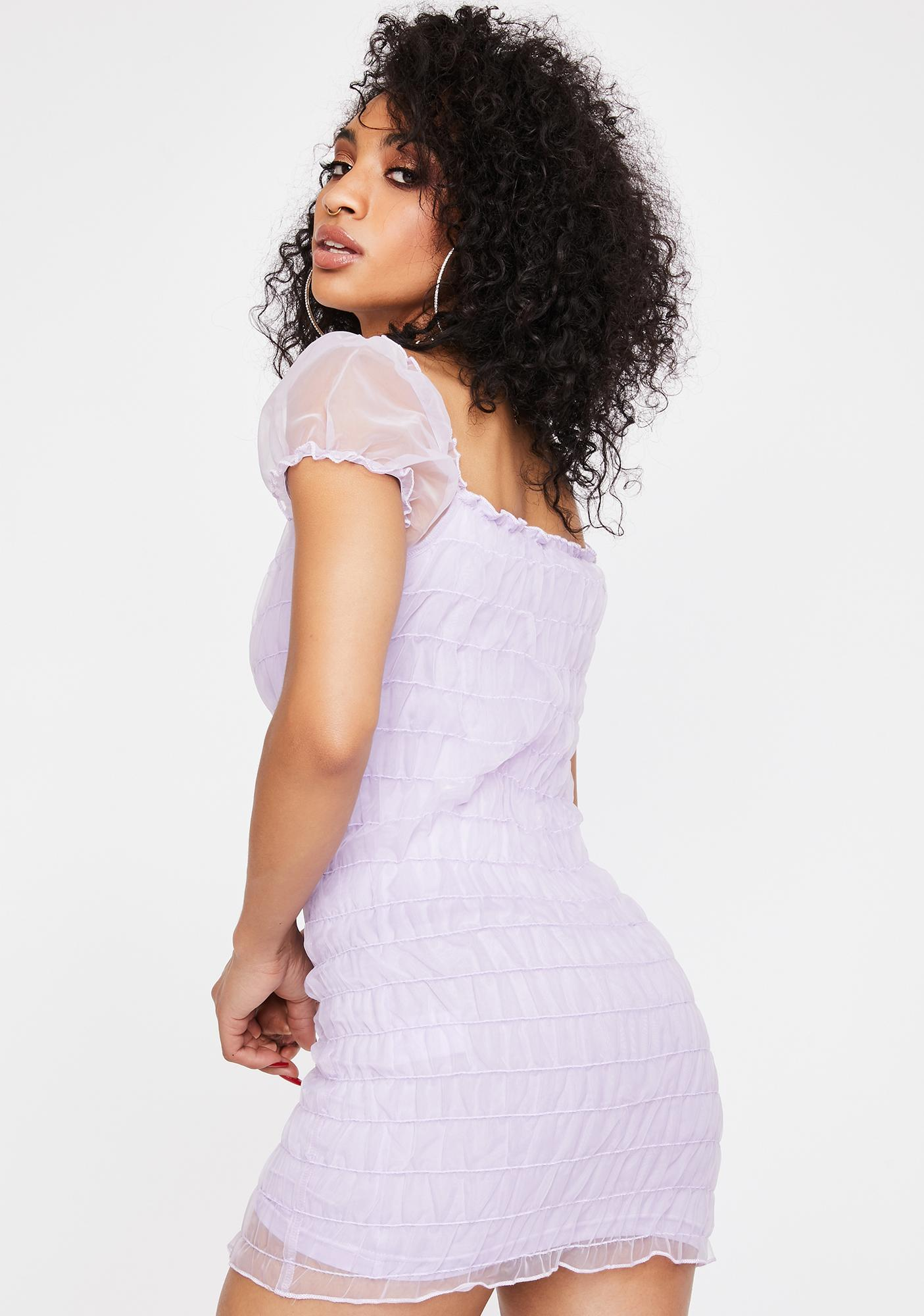 Motel Lilac Lenira Mini Dress