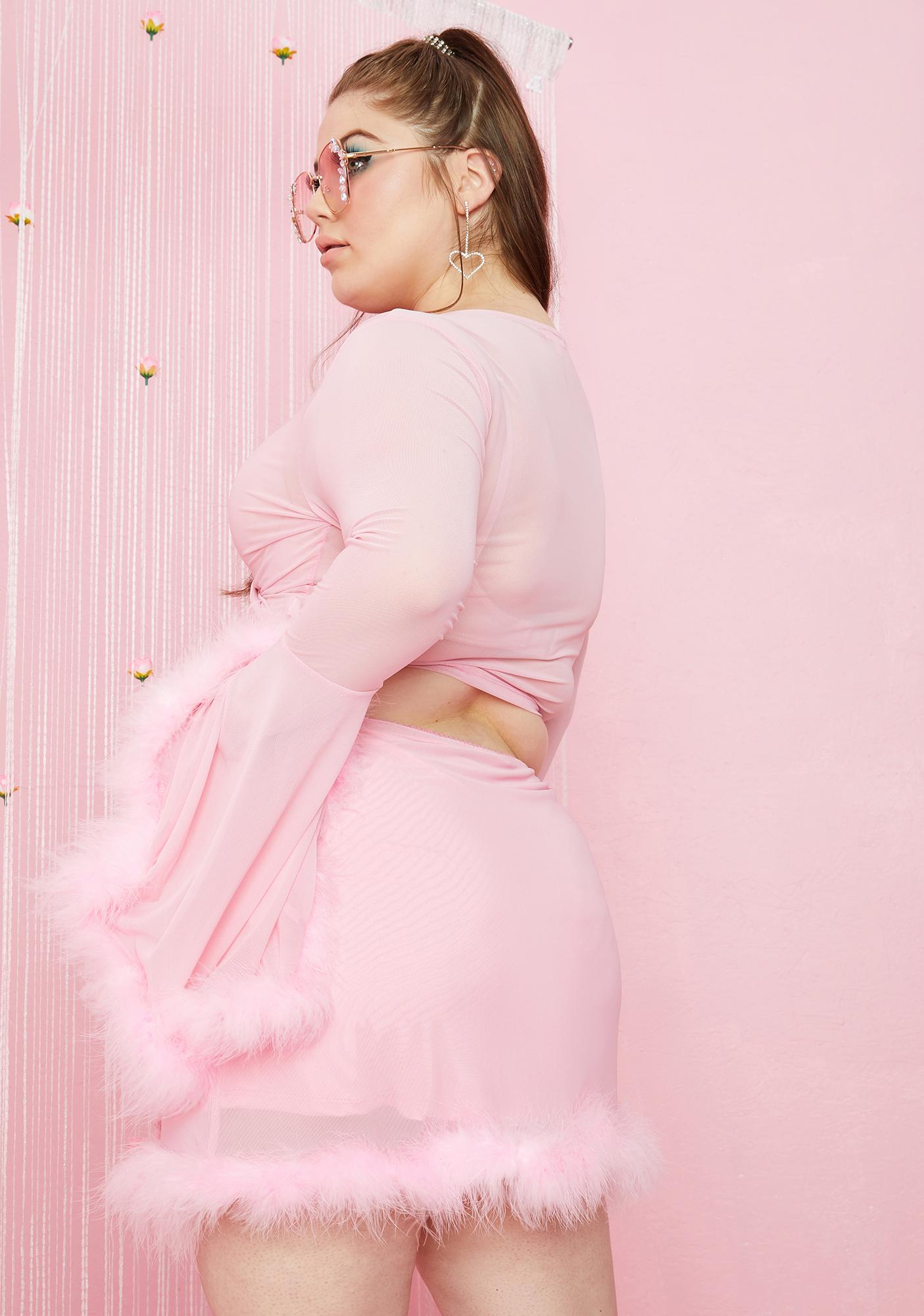 Sugar Thrillz My Hollywood Dream Mesh Skirt