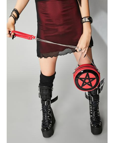 Cursed Protection Pentagram Purse