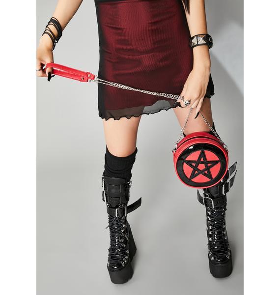 Widow Cursed Protection Pentagram Purse
