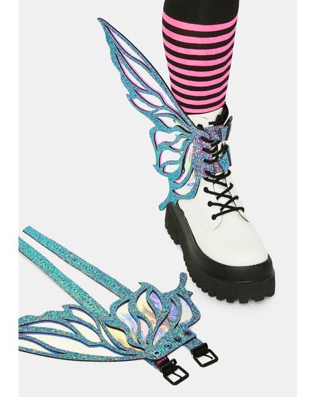 Feyre Glitter Fairy Shoe Wingz