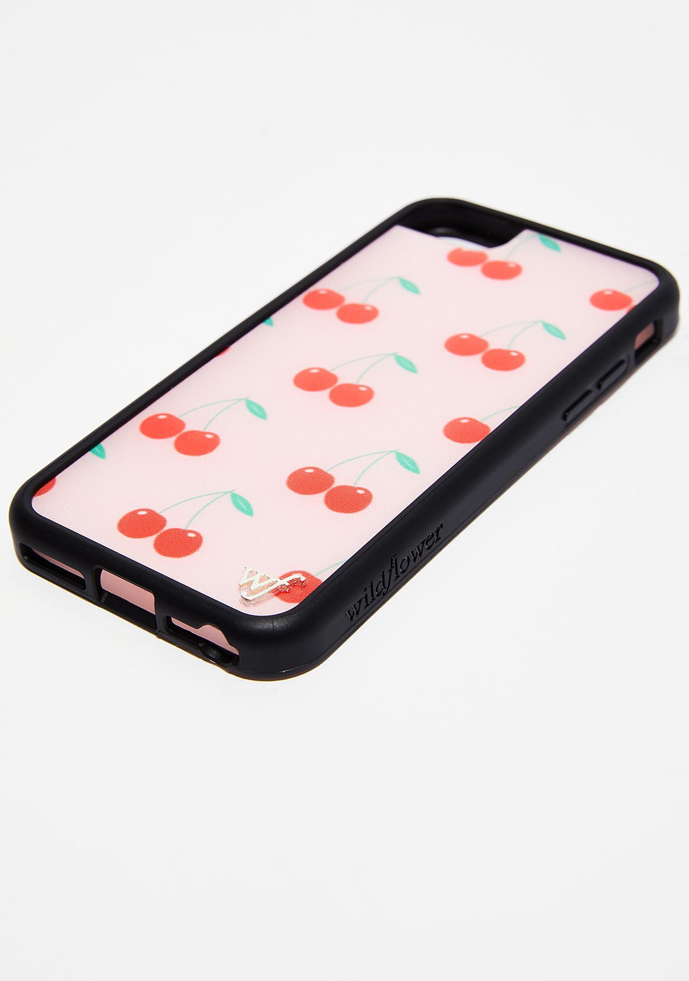 Wildflower Pink Cherry Phone Case
