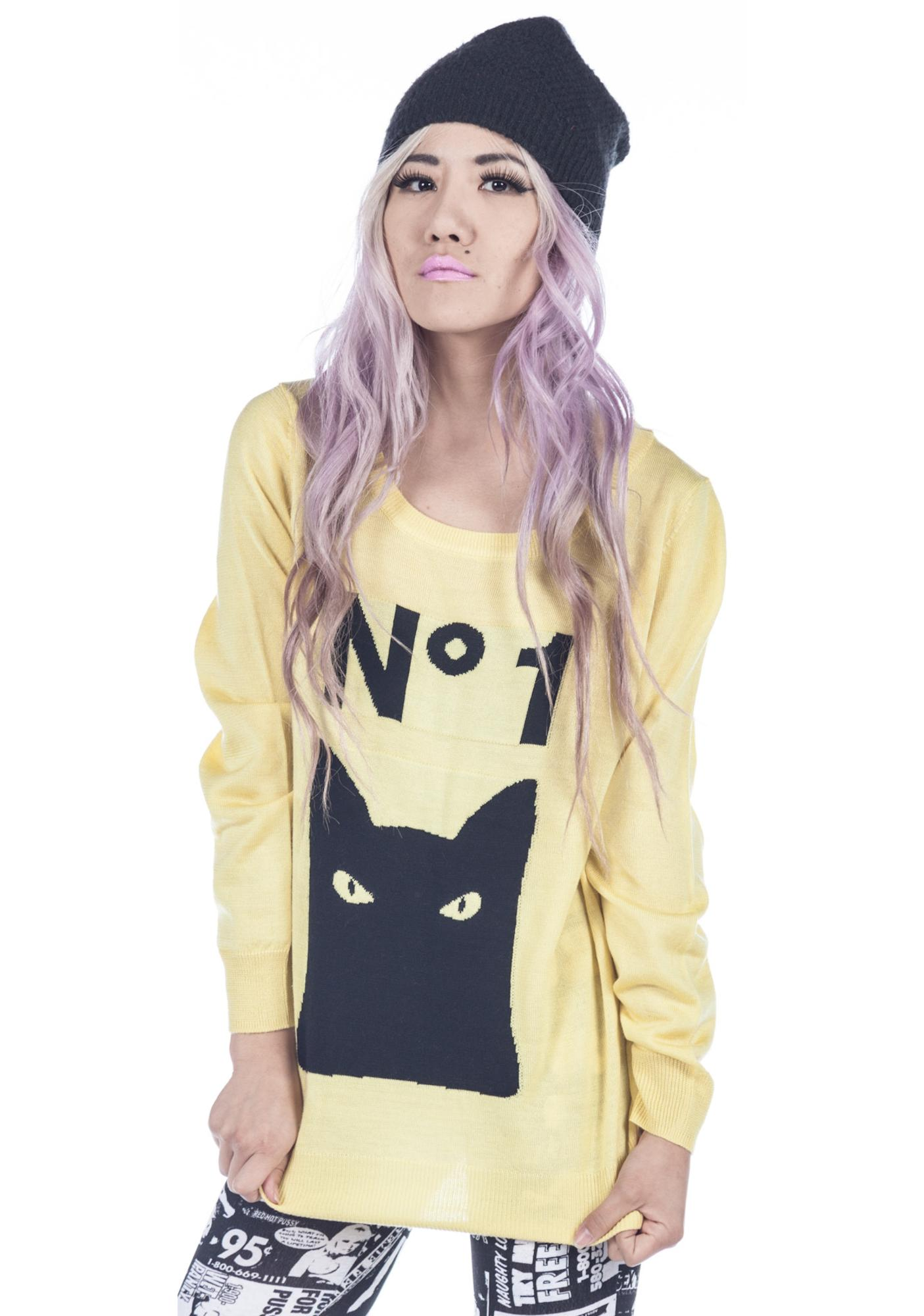 Joyrich Cat Eye Sweater
