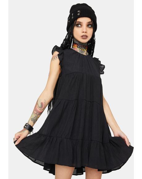 Ruffle Chic Mini Dress