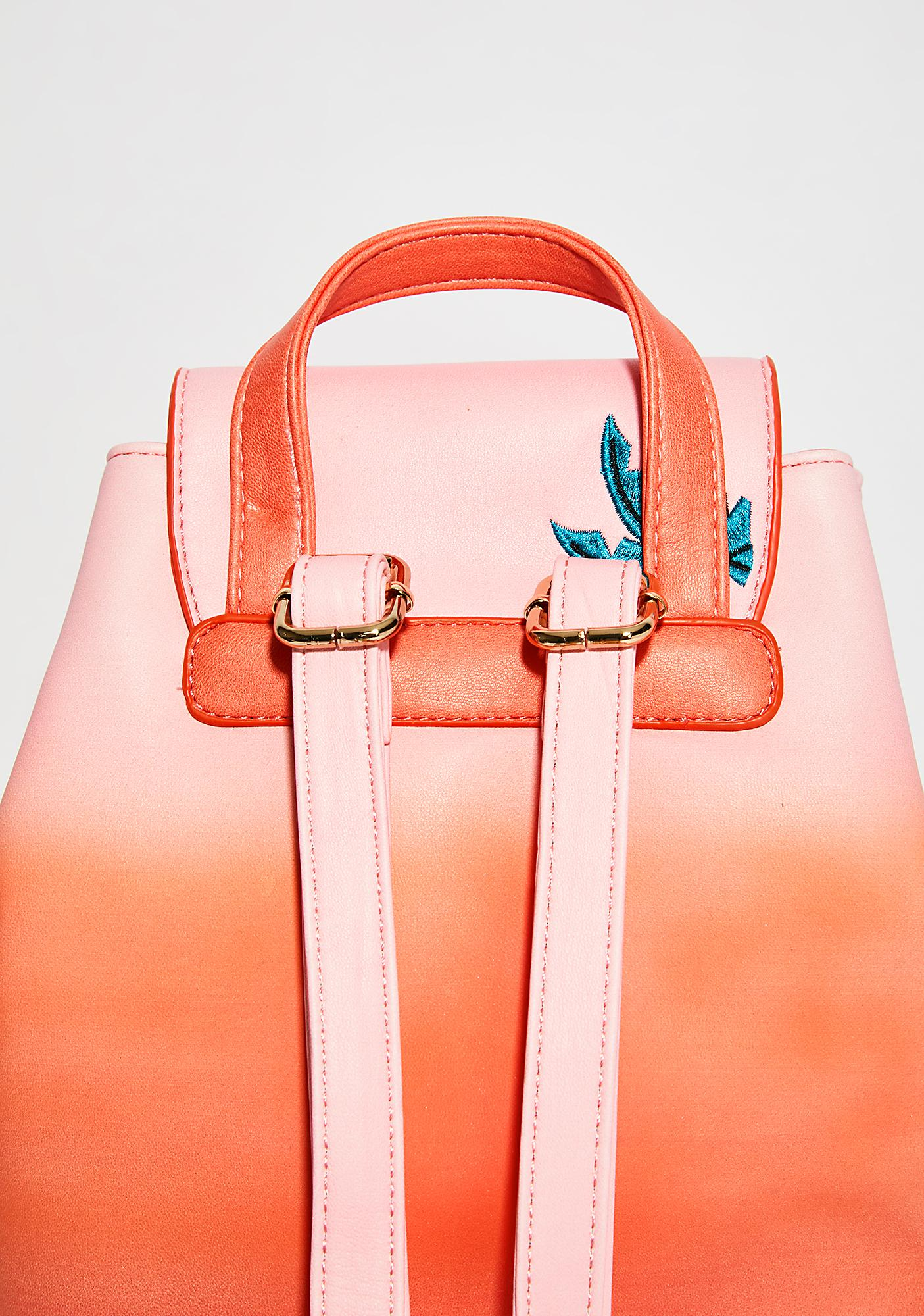 Skinnydip Palm Ombre Backpack