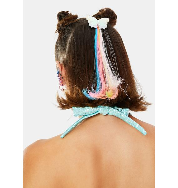 Touch Of Magic Butterfly Hair Extension Clip