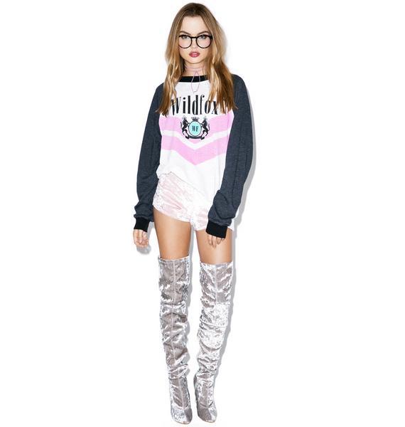 Wildfox Couture Wildfox Academy Kim's Sweater