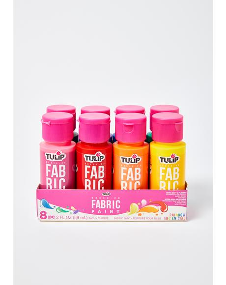 Pop Of Color Fabric Paint Set