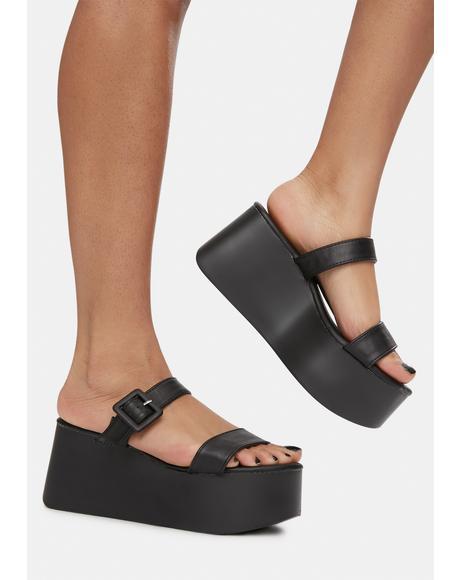 Hey Bestie Platform Sandals