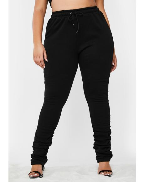 Check Link In Bio Ruched Joggers