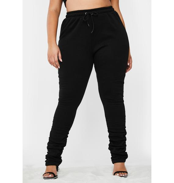 Poster Grl Check Link In Bio Ruched Joggers