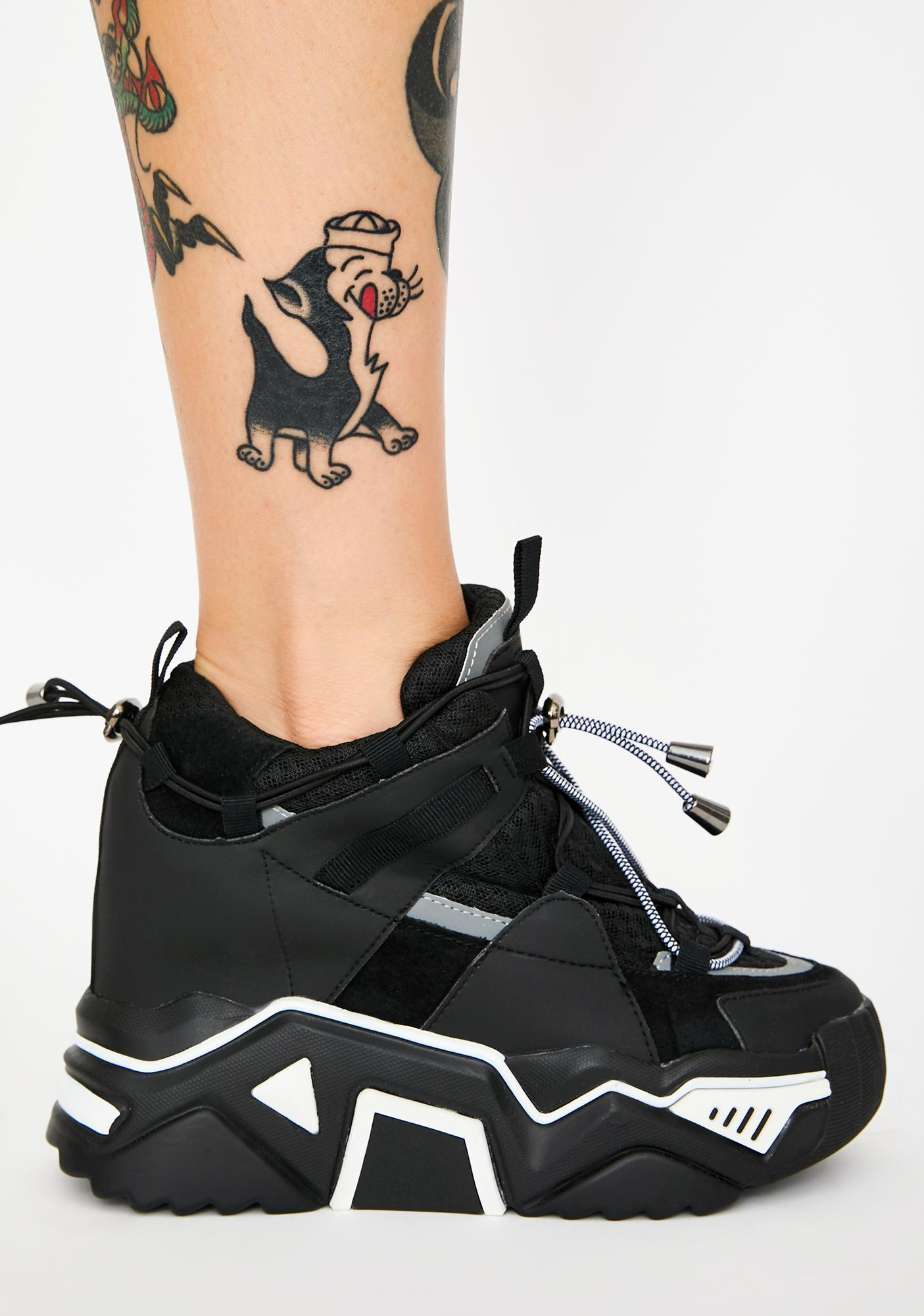 Anthony Wang Changin' The Game Platform Sneakers